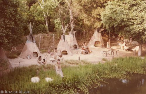 Native American Village from Mark Twain River Cruise