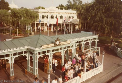 Ferry wharf - New Orleans Square