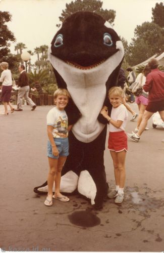David and me with a killer whale