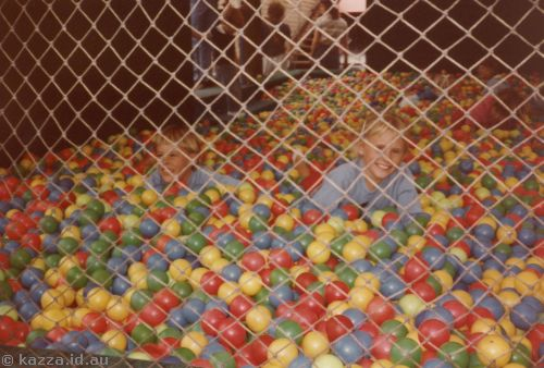 In the best ball pit I've ever been in!