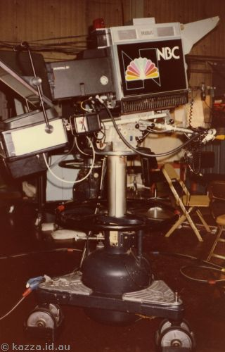 NBC TV news camera at NBC Studio