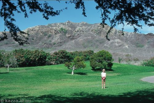Me in Diamond Head crater