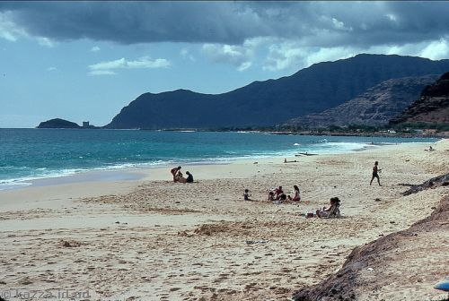 Beach, southwest Oahu